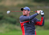 Ruairi O'Connor (Co. Sligo) on the 14th fairway during the Connacht Final of the AIG Barton Shield at Galway Bay Golf Club, Galway, Co Galway. 11/08/2017<br /> <br /> Picture: Golffile | Thos Caffrey<br /> <br /> <br /> All photo usage must carry mandatory copyright credit     (&copy; Golffile | Thos Caffrey)