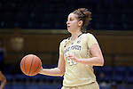 29 January 2017: Wake Forest's Elisa Penna (ITA). The Duke University Blue Devils hosted the Old Dominion University Monarchs at Cameron Indoor Stadium in Durham, North Carolina in a 2016-17 Division I Women's Basketball game. Duke won the game 71-43.