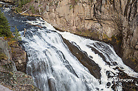 67545-09714 Gibbon Falls at Yellowstone National Park, WY