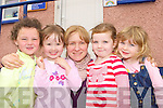 Rainbow Creche Glenbeigh celebrates receiving EUR20,000 grant from the OMC on Tuesday l-r: Lorraine O'Shea, Robyn Griffin, Saffron Marriott, Aby Sheehan and Sinead King