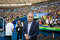 Rio de Janeiro (RJ), 07/07/2019 - Copa América / Final / Brasil x Peru -  Tite, técnico do Brasil durante partida contra o Peru jogo válido pela Final da Copa América no Estádio do Maracanã no Rio de Janeiro neste domingo, 07. (Foto: Gustavo Serebrenick/Brazil Photo Press)