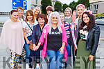 Anna Griffin from Tralee heading to Galway for her hen party on Saturday pictured with Elizabeth Shanahan O'Sullivan, Mary O'Sullivan, Kay Griffin, Clara Cunningham, Grace Counihan, Rita Griffin, Martina Joy, Caroline Meehan, Stephanie O'Halloran, Kiera Griffin,
