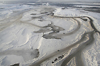 Suncor Millenium oil sand strip mine - Tar Sand (Oil Sand) mining and refining near Ft McMurray Alberta