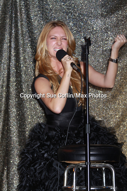 One Life To Live BethAnn Bonner performs at ICNY (Imperial Court of New York): Daytime Meets Nighttime Cabaret benefitting LifeBeat: Music Fights HIV and Jan Hus Neighborhood Church, two organizations giving back to the community at November 4, 2011 at the Jan Hus Playhouse Theatre, New York City, New York. (Photo by Sue Coflin/Max Photos)