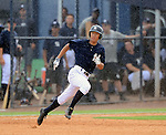 Gosuke Kato (Yankees), JUNE 21, 2013 - MLB : Gosuke Katoh of the Yankees runs after hitting a homerun during the Gulf Coast League game between the Gulf Coast League Yankees1 and the Gulf Coast League Pirates at Yankee Complex in Tampa, Florida, United States. (Photo by AFLO)