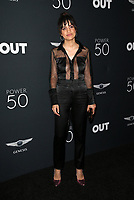 HOLLYWOOD, CA - AUGUST 10: Natalie Morales, at OUT Magazine's Inaugural POWER 50 Gala & Awards Presentation at the Goya Studios in Los Angeles, California on August 10, 2017. Credit: Faye Sadou/MediaPunch