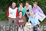 ARTHRITIS IRELAND: Taking part in the Walk for the Kerry Branch of Arthritis Ireland in Ballyseedy Wood on Friday front l-r: Carol Shannan (Secretary), Hermes, and Gillian Rowe (PRO). Back Tom Barrett (Chairperson), Kit Ryan (Assistant PRO), Deborah Barrett and Kat O'Shea.   Copyright Kerry's Eye 2008