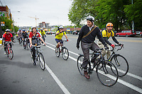 Cascade Bicycle Club presents F5 Bike to Work Day in Seattle on May 18, 2012. (Photos by Andy Rogers/Red Box Pictures)