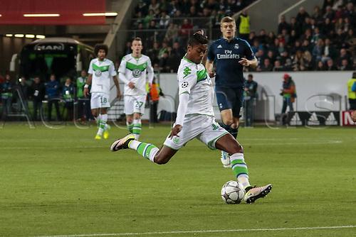 06.04.2016. Wolfsburg, Geramny. UEFA Champions League quarterfinal. VfL Wolfsburg versus Real Madrid.  Bruno Henrique (Wolfsburg, 16)
