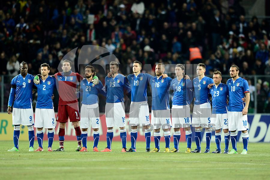 Football: National Team Italy, Geneva, 21.03.2013?Teamphoto?©pixathlon.ITA AND FRA OUT !