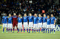Football: National Team Italy, Geneva, 21.03.2013?Teamphoto?© pixathlon.ITA AND FRA OUT !