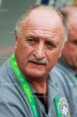 Luiz Felipe Scolari (BRA),<br /> JUNE 15, 2013 - Football / Soccer :<br /> Brazil head coach Luiz Felipe Scolari before the FIFA Confederations Cup Brazil 2013 Group A match between Brazil 3-0 Japan at Estadio Nacional in Brasilia, Brazil. (Photo by Shin-ichiro Kaneko/AFLO)