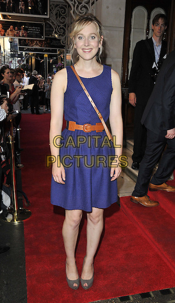 LONDON, ENGLAND - JULY 23: Hattie Morahan attends the 'Shakespeare in Love' press night performance, Noel Coward Theatre, St Martin's Lane, on Wednesday July 23, 2014 in London, England, UK. <br /> CAP/CAN<br /> &copy;Can Nguyen/Capital Pictures