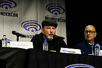 Ruben Blades at Wondercon in Anaheim Ca. March 31, 2019