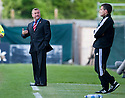 ::  HAMILTON MANAGER BILLY REID HAS A GO AT FOURTH OFFICIAL STEVE CONROY  ::.25/04/2011  sct_jsp004_hamilton_v_aberdeen  .Copyright  Pic : James Stewart.James Stewart Photography 19 Carronlea Drive, Falkirk. FK2 8DN      Vat Reg No. 607 6932 25.Telephone      : +44 (0)1324 570291 .Mobile              : +44 (0)7721 416997.E-mail  :  jim@jspa.co.uk.If you require further information then contact Jim Stewart on any of the numbers above........