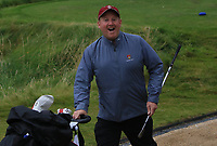 Tom Keane on the bag for Ronan Cross (Ballybunion) on the 16th tee during the Munster Final of the AIG Junior Cup at Tralee Golf Club, Tralee, Co Kerry. 13/08/2017<br /> Picture: Golffile | Thos Caffrey<br /> <br /> <br /> All photo usage must carry mandatory copyright credit     (&copy; Golffile | Thos Caffrey)