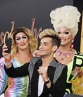 NEW YORK, NY-July 18: Frankie Grande  at Fox Searchlight Pictures presents premiere of Absolutely Fabulous: The Movie  to talk about  Star Trek Beyond in New York. NY July 18, 2016. Credit:RW/MediaPunch