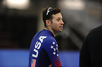 SPEEDSKATING: SALT LAKE CITY: 06-12-2017, Utah Olympic Oval, ISU World Cup, training, Jonathan Garcia (USA), photo Martin de Jong