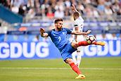 June 13th 2017, Stade de France, Paris, France; International football friendly, France versus England;  OLIVIER GIROUD (fra) takes a shot