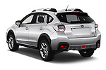Car pictures of rear three quarter view of a 2017 Subaru XV Premium 5 Door SUV angular rear