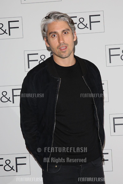 George Lamb at the F&F - a/w 2014 fashion show held at Somerset House, London. 03/04/2014 Picture by: Henry Harris / Featureflash