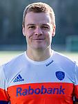 UTRECHT - Mink van der Weerden, thuis shirt , speler Nederlands Hockey Team heren. COPYRIGHT KOEN SUYK