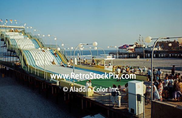 Giant Slide On The Wildwood,(Nj Boardwalk)