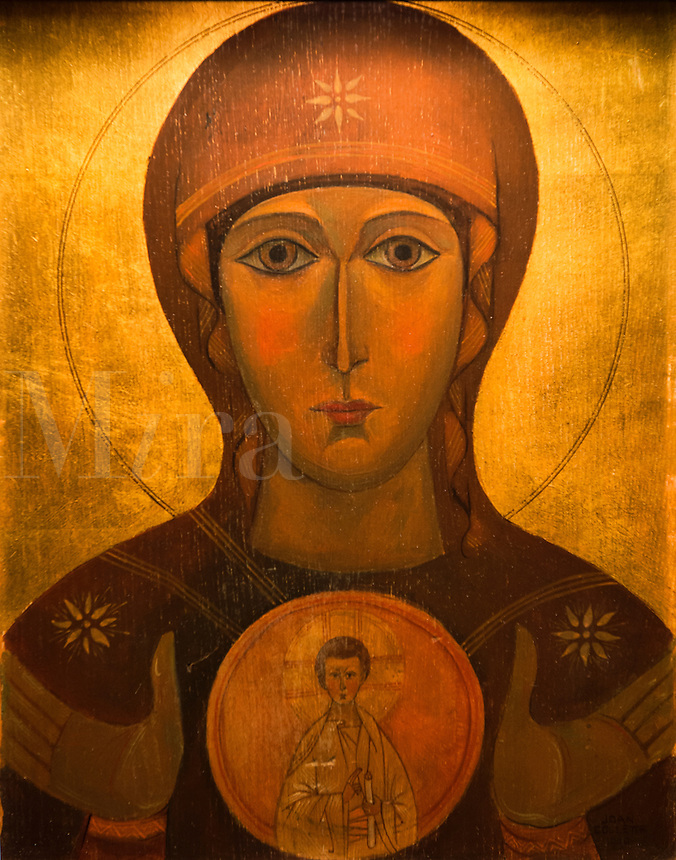 Icon of Mary and Jesus Christ