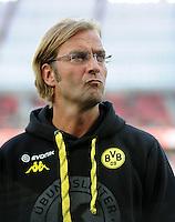FUSSBALL   1. BUNDESLIGA   SAISON 2011/2012    4. SPIELTAG Bayer 04 Leverkusen - Borussia Dortmund              27.08.2011 Trainer Juergen KLOPP (Dortmund)