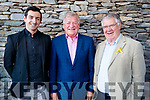 Aidan O'Mahony, Gary Dillon and Tomas Garvey at the opening of the new 15 bed in-patient PalliatIve Care Unit at University Hospital Kerry Hospice on Friday last.