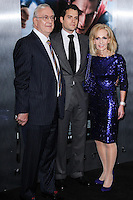 "NEW YORK, NY - JUNE 10: Colin Cavill, Henry Cavill and Marianne Cavill attend the ""Man Of Steel"" World Premiere at Alice Tully Hall at Lincoln Center on June 10, 2013 in New York City. (Photo by Celebrity Monitor)"