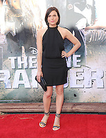 Lana Parrilla at The Disney World Premiere of The Lone Ranger held at at Disney California Adventure in Anaheim, California on June 22,2021                                                                   Copyright 2013 DVSIL / iPhotoLive.com