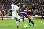 UEFA Champions League 2017/2018.<br /> Round of 16 2nd leg.<br /> FC Barcelona vs Chelsea FC: 3-0.<br /> Victor Moses vs Jordi Alba.