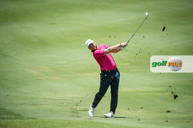Jordan Smith (ENG) during the 3rd round of the AfrAsia Bank Mauritius Open, Four Seasons Golf Club Mauritius at Anahita, Beau Champ, Mauritius. 01/12/2018<br /> Picture: Golffile | Mark Sampson<br /> <br /> <br /> All photo usage must carry mandatory copyright credit (© Golffile | Mark Sampson)