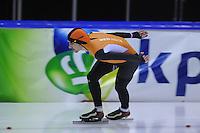 SCHAATSEN: HEERENVEEN: 01-02-2014, IJsstadion Thialf, Olympische testwedstrijd, Bob de Jong, ©foto Martin de Jong