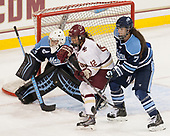 Carly Jackson (Maine - 33), Kenzie Kent (BC - 12), Alyson Matteau (Maine - 7) - The Boston College Eagles defeated the visiting University of Maine Black Bears 2-1 on Saturday, October 8, 2016, at Kelley Rink in Conte Forum in Chestnut Hill, Massachusetts.  The University of North Dakota Fighting Hawks celebrate their 2016 D1 national championship win on Saturday, April 9, 2016, at Amalie Arena in Tampa, Florida.