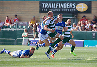 Harry Casson of Ealing Trailfinders during the 2019/20 Pre Season Friendly match between Ealing Trailfinders and Bishop's Stortford at Castle Bar , West Ealing , England  on 24 August 2019. Photo by Alan  Stanford / PRiME Media images