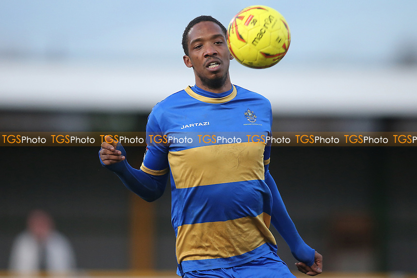 Kai Bichard of Romford during Romford vs Cheshunt, Ryman League Division 1 North Football at Ship Lane on 28th January 2017