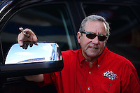 Sept. 14, 2012; Concord, NC, USA: NHRA team owner Don Schumacher during qualifying for the O'Reilly Auto Parts Nationals at zMax Dragway. Mandatory Credit: Mark J. Rebilas-