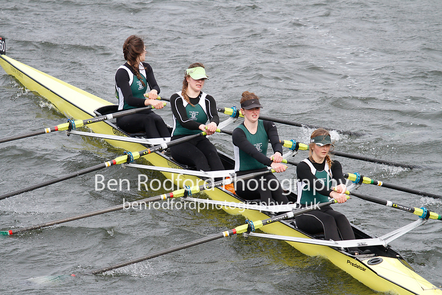 Crew: 260  Grange Sch  Event: Girls CHAMP quads<br /> <br /> Schools' Head of the River 2017<br /> <br /> To purchase this photo, or to see pricing information for Prints and Downloads, click the blue 'Add to Cart' button at the top-right of the page.