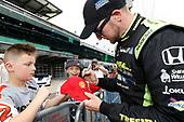 Verizon IndyCar Series<br /> Indianapolis 500 Qualifying<br /> Indianapolis Motor Speedway, Indianapolis, IN USA<br /> Saturday 20 May 2017<br /> Charlie Kimball, Chip Ganassi Racing Teams Honda<br /> World Copyright: Michael L. Levitt<br /> LAT Images