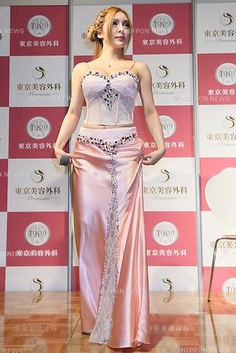 Vanilla, Aug 18, 2013 : Model Vanilla talk show by Tokyo Cosmetic Surgery 18 Aug 2013 Tokyo Japan.
