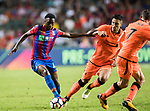 Crystal Palace midfielder Aaron Wan-Bissaka  (L) in action during the Premier League Asia Trophy match between Liverpool FC and Crystal Palace FC at Hong Kong Stadium on 19 July 2017, in Hong Kong, China. Photo by Yu Chun Christopher Wong / Power Sport Images