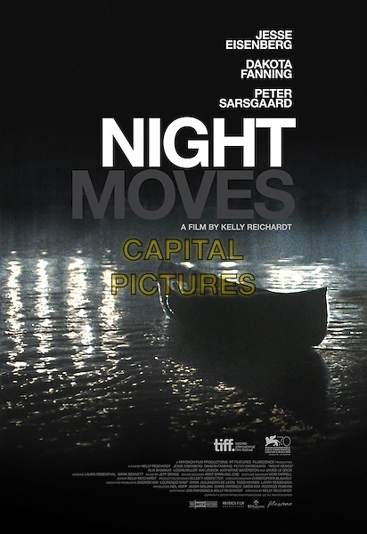 POSTER ART<br /> in Night Moves (2013) <br /> *Filmstill - Editorial Use Only*<br /> CAP/FB<br /> Image supplied by Capital Pictures