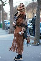 Martha Graeff at Paris Fashion Week (Photo by Hunter Abrams/Guest of a Guest)