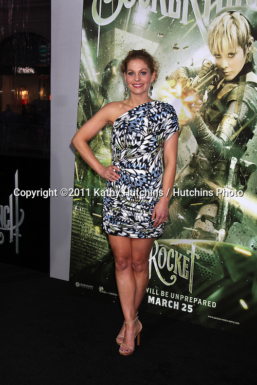 """LOS ANGELES - MAR 23:  Candace Cameron Bure arriving at the """"Sucker Punch"""" Movie Premiere at Graumans Chinese Theater on March 23, 2011 in Los Angeles, CA"""