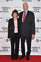 "NEW YORK - APRIL 30: Lt. Col. Nancy Jaax and Lt. Col. Jerry Jaax attend the 2019 Tribeca Film Festival premiere of National Geographic's Three-Night Limited Series ""The Hot Zone"" which premieres Monday, May 27 at 9/8c. (Photo by Anthony Behar/National Geographic/PictureGroup)"