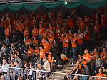 11.04.2018, Arena am Ischeland, Hagen, GER, 2. BBL PRO A, Play-Offs, Phoenix Hagen vs Rasta Vechta, im Bild<br /> <br /> Fans Vechta<br /> <br /> <br /> Foto &copy; nordphoto / Treese
