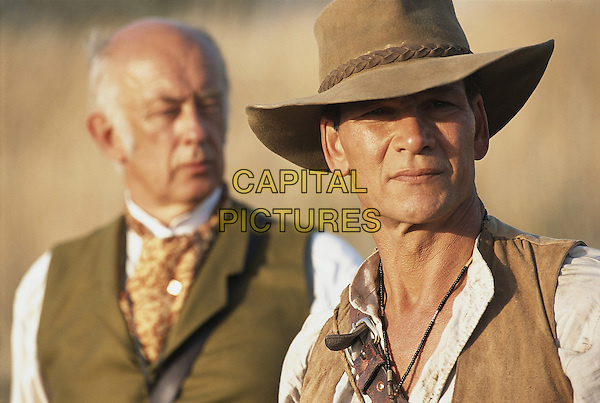 PATRICK SWAYZE & ROY MARSDEN.in King SolomonÕs Mines.*Editorial Use Only*.www.capitalpictures.com.sales@capitalpictures.com.Supplied by Capital Pictures.