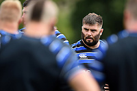 Will Vaughan of Bath Rugby looks on. Bath Rugby pre-season training on August 14, 2018 at Farleigh House in Bath, England. Photo by: Patrick Khachfe / Onside Images